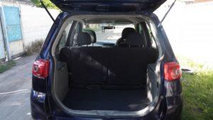 Вид сзади багажник